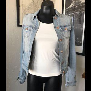 ⚡️Final Price⚡️ Preloved M denim jacket